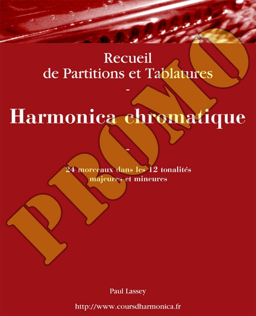 Product picture 24 themes pour harmonica chromatique - Paul_Lassey