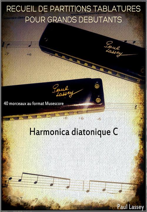 Product picture Recueil grands debutants - Harmonica diatonique C