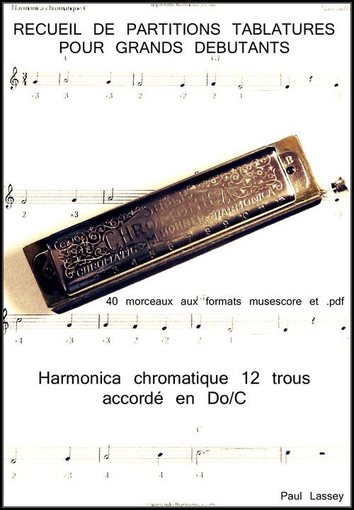 Product picture Recueil grands debutants - Harmonica chromatique C